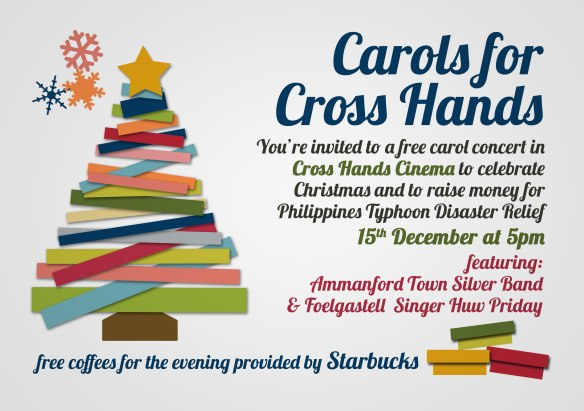 Carols for Cross Hands Invite